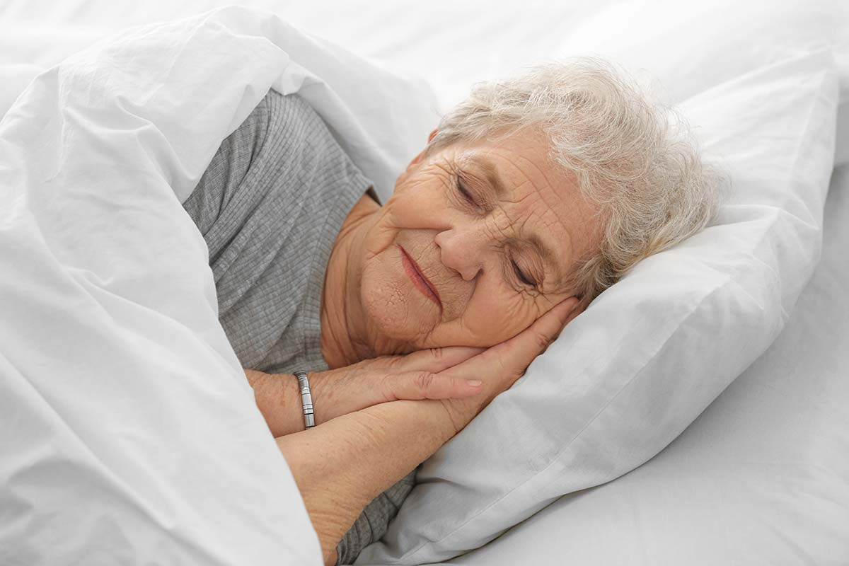 Advice for seniors good sleep from Home Instead Caregivers